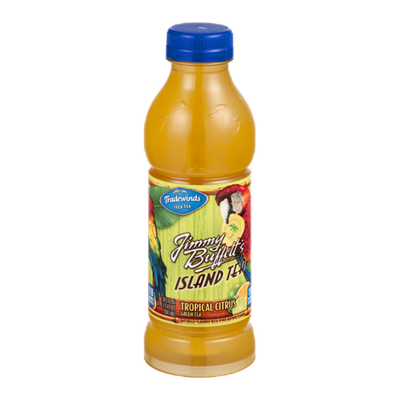 Tradewinds Iced Tea Jimmy Buffett's Island Tea Tropical Citrus Green Tea