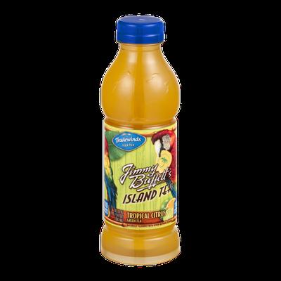 Tradewinds Iced Tea Jimmy Buffett's Island Tea Tropical Citrus Green Tea