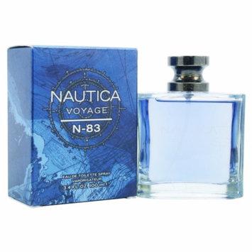 Nautica Voyage N83 Eau de Toilette Spray, 3.4 fl oz