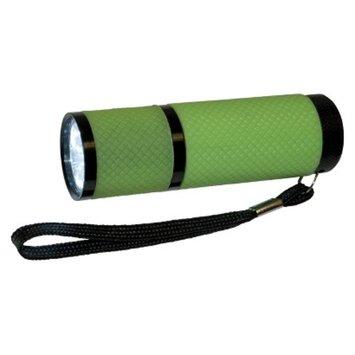 Great Neck Greatlite Mini 9 LED Glow In The Dark Flashlight - Green