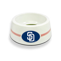 Sierra Accessories San Diego Padres Classic Baseball Pet Bowl