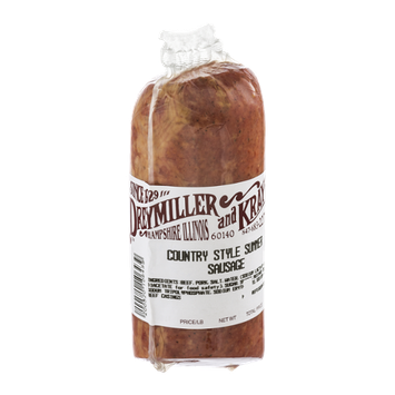 Dreymiller and Kray Country Style Summer Sausage
