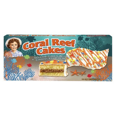 Little Debbie Coral Reef Cakes Chocolate 9.50 oz 5 ct