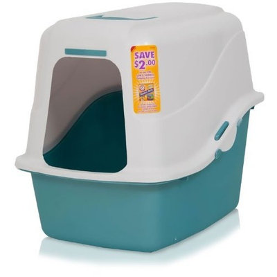 Doskocil Manufacturing Arm Hammer Hooded Pan System Jumbo Pearl White/Pearl Ash Blue