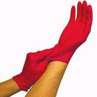 Preventive Care AlloGena(R) Nitrile Exam Gloves Powder-Free, SMALL, Magenta