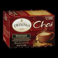 Twinings of London Chai Decaffeinated Tea - 20 CT