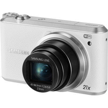 Samsung WB350F White 16.3-megapixel Digital Camera