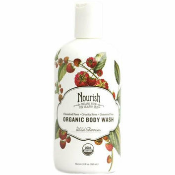 Nourish Body Wash Wild Berry 10 fl oz