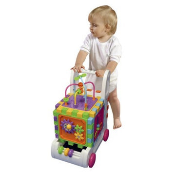Pavlov'z Toyz Walk and Learn Activity Cart