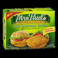 Mrs. Paul's Fish Sandwich Fillets - 6 CT