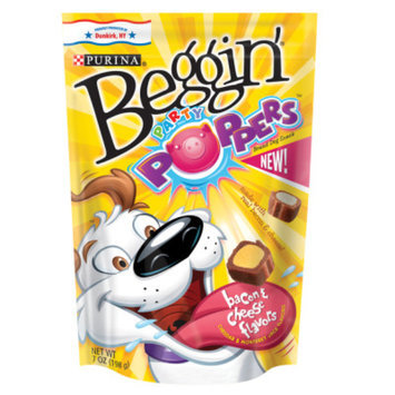 PurinaA Beggin Party Poppers Dog Snack