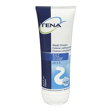 TENA Wash Cream, 8.5 Ounce (Pack of 2)