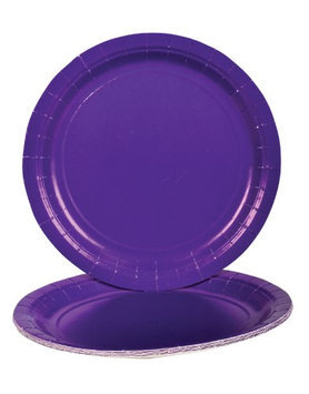 Rhode Island Novelty Purple Dinner Paper Plates (25 pc)