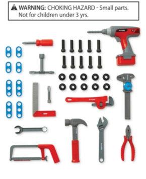Merchsource, Llc Discovery Kids 40-piece Power Tool Set