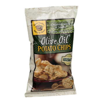 Good Health Natural Foods Olive Oil Potato Chips Rosemary
