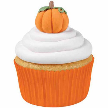 Walter Meier Royal Icing Decorations 12/Pkg-3D Pumpkins