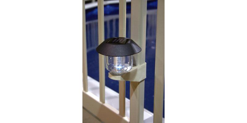 Vinyl Works Solar Light Kit For Above Ground Pool Fence