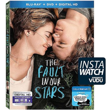 The Fault In Our Stars (Blu-ray + DVD + Digital HD + Bonus Downloads) (Walmart Exclusive) (Widescreen)