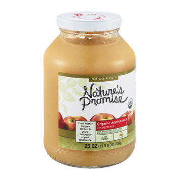 Nature's Promise Organic Applesauce Unsweetened