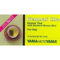 JapanBargain Yamamotoyama Genmai Cha Green Tea 20 Bags #4545
