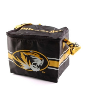 Missouri Tigers Lunch Bag: 6 Pack Zipper Cooler Forever Collectibles