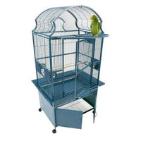 A&e Cage Large Fan Top Bird Cage Color: Sandstone