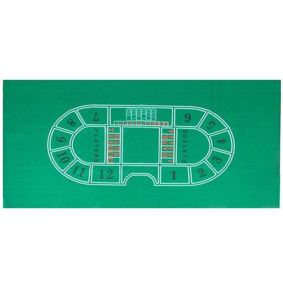 Trademark Poker Baccarat Felt Layout - 36 x 72 inch
