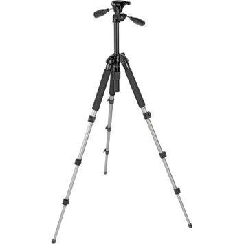 Slik Able 340DX A.M.T 4 Section Titanium Tripod with 3-way Quick Release Pan Tilt Head, Max. Height 58