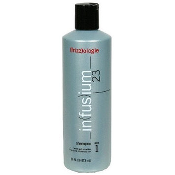 Infusium 23 (frizz)ologie Shampoo, Step 1, 16 fl oz Bottle (Pack of 3)
