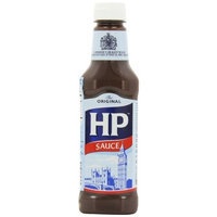 H.P. H P Sauce, 15-Ounce Plastic Bottles (Pack of 4)