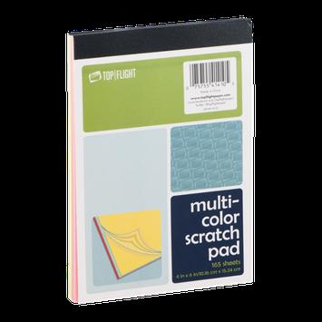 Top Flight Multi-Color Scratch Pad - 165 Sheets
