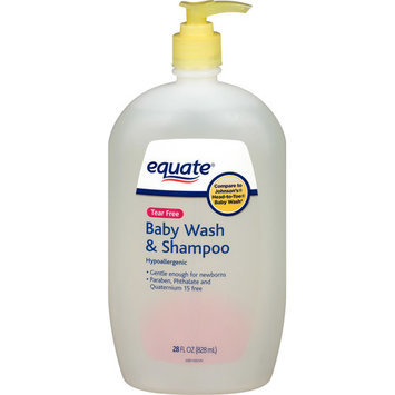 Equate Tear Free Baby Wash & Shampoo, 28 fl oz