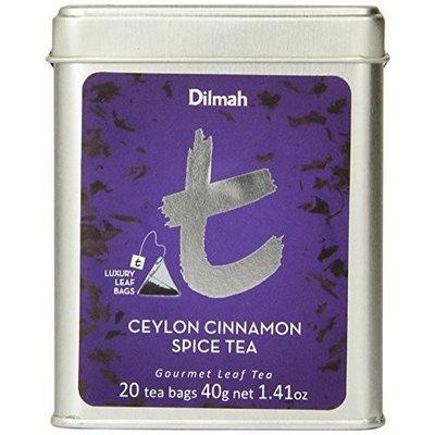Dilmah Tea, Ceylon Cinnamon Spice Tea, 20 Count Luxury Leaf Teabags