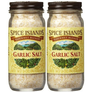 Spice Island Garlic Salt, 3 oz