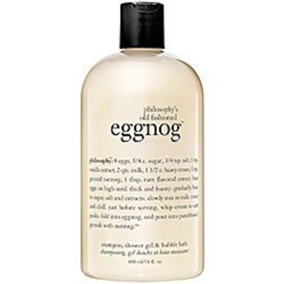 Philosophy, Inc, us beauty, PHIGH Philosophy Old Fashioned Egg Nog Shower Gel, 16 Ounces