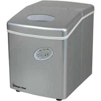 Magic Chef MAGIC CHEF MCIM22TS 27-lb Portable Mini Ice Maker (Silver) MCPMCIM22TS