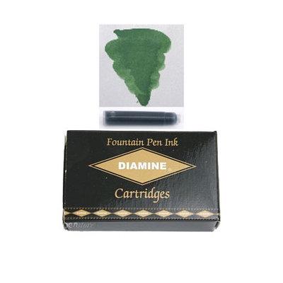 Pk/18 DIAMINE Fountain Pen Ink Cartridges, EMERALD