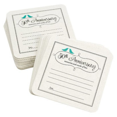 Hortense B. Hewitt 50th Anniversary Bird Coasters