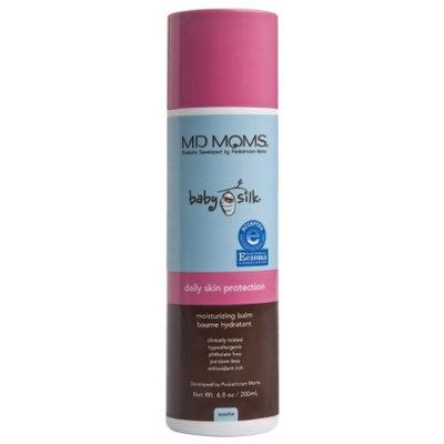 MD MOMS Baby Silk Daily Skin Protection Moisturizing Balm, 6.8 oz