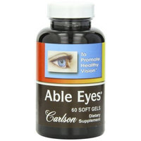 Carlson Able Eyes, 60 Softgels