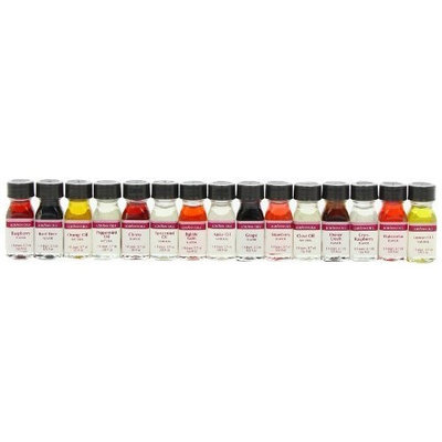 Lorann Oils LorAnn Flavoring Oils, Assorted Flavors, 1 Dram (Pack of 24)