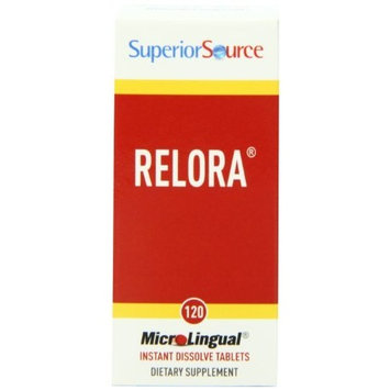 Superior Source Relora Appetite Suppressant, 250 Mg, 120 Count