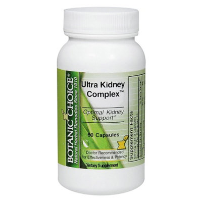 Botanic Choice Ultra Kidney Complex Dietary Supplement Capsules