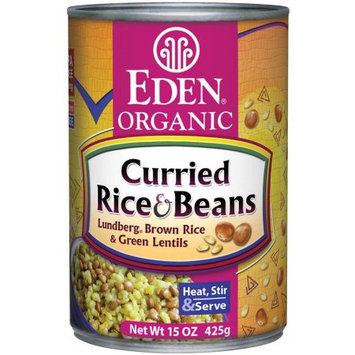 Eden Organic Eden Curried Rice & Lentils, Organic, 15 Ounce (Pack of 6)