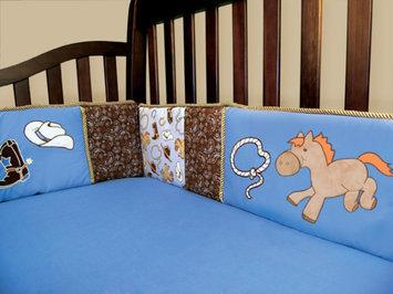 Trend Lab 106734 Cowboy Baby - Crib Bumpers