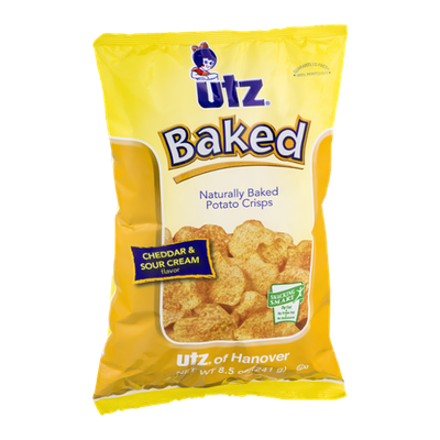 Utz Baked Potato Crisps Cheddar & Sour Cream Flavor
