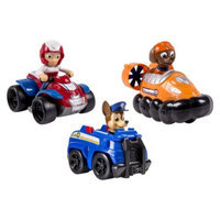 Nickelodeon, Paw Patrol - Rescue Racers 3pk Vehicle Set Chase, Zuma,