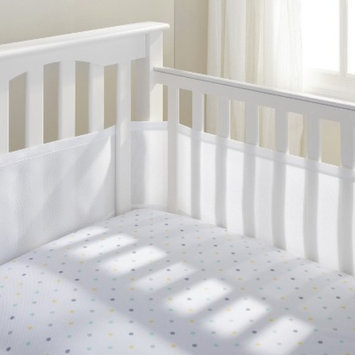 Breathable Mesh Crib Liner by BreathableBaby - White