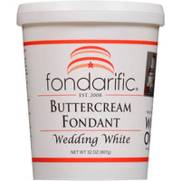Fondarific Wedding White Buttercream Fondant, 32 oz