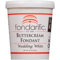Fondarific Wedding White Buttercream Fondant, 32 oz